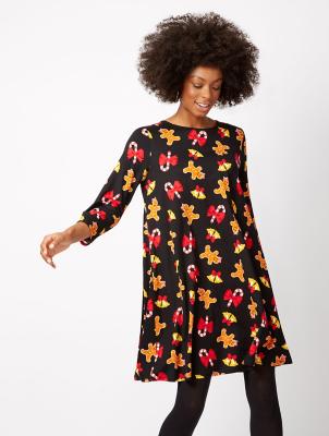 Black and yellow dress asda direct