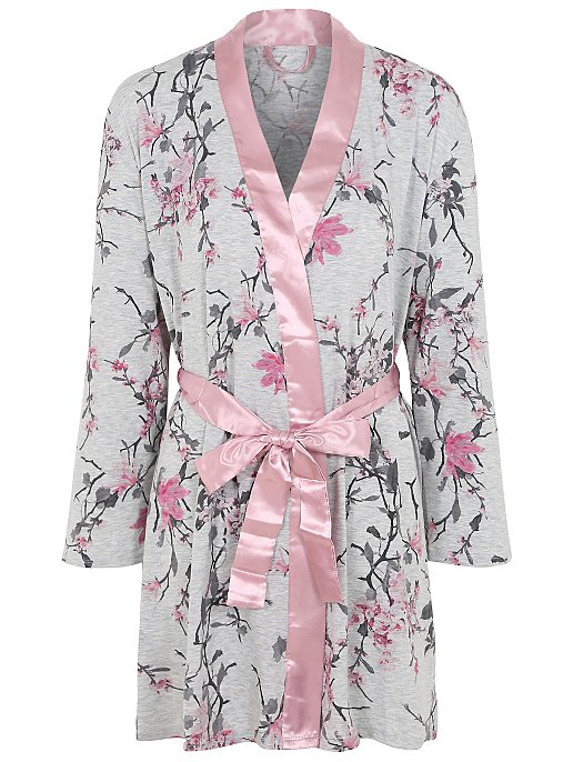 Tickled Pink Post Surgery Floral Dressing Gown. Reset 7bbb0c16c