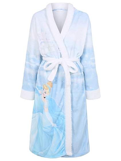 Disney Cinderella Hooded Dressing Gown | Women | George