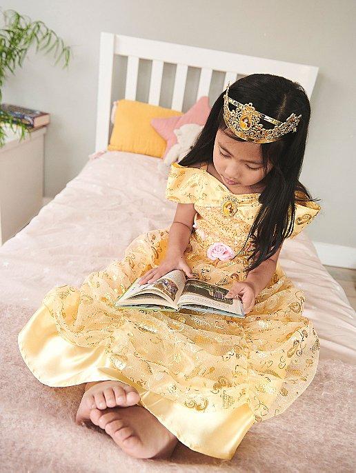 82dd20ea050 Disney Princess Belle Fancy Dress Costume. Video