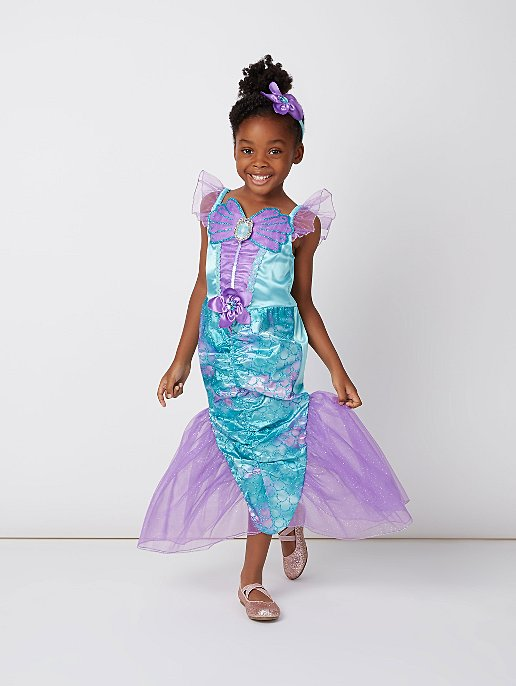 dd8f2ed7ae3 Disney Princess Ariel Little Mermaid Fancy Dress Costume. Video