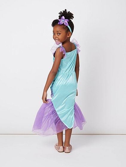 Disney Princess Ariel Little Mermaid Fancy Dress Costume | Kids | George
