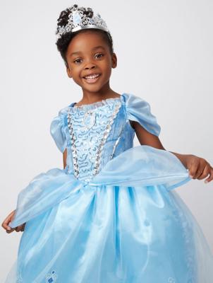 Beautiful Disney Princess Cinderella Fancy Dress Costume. Video