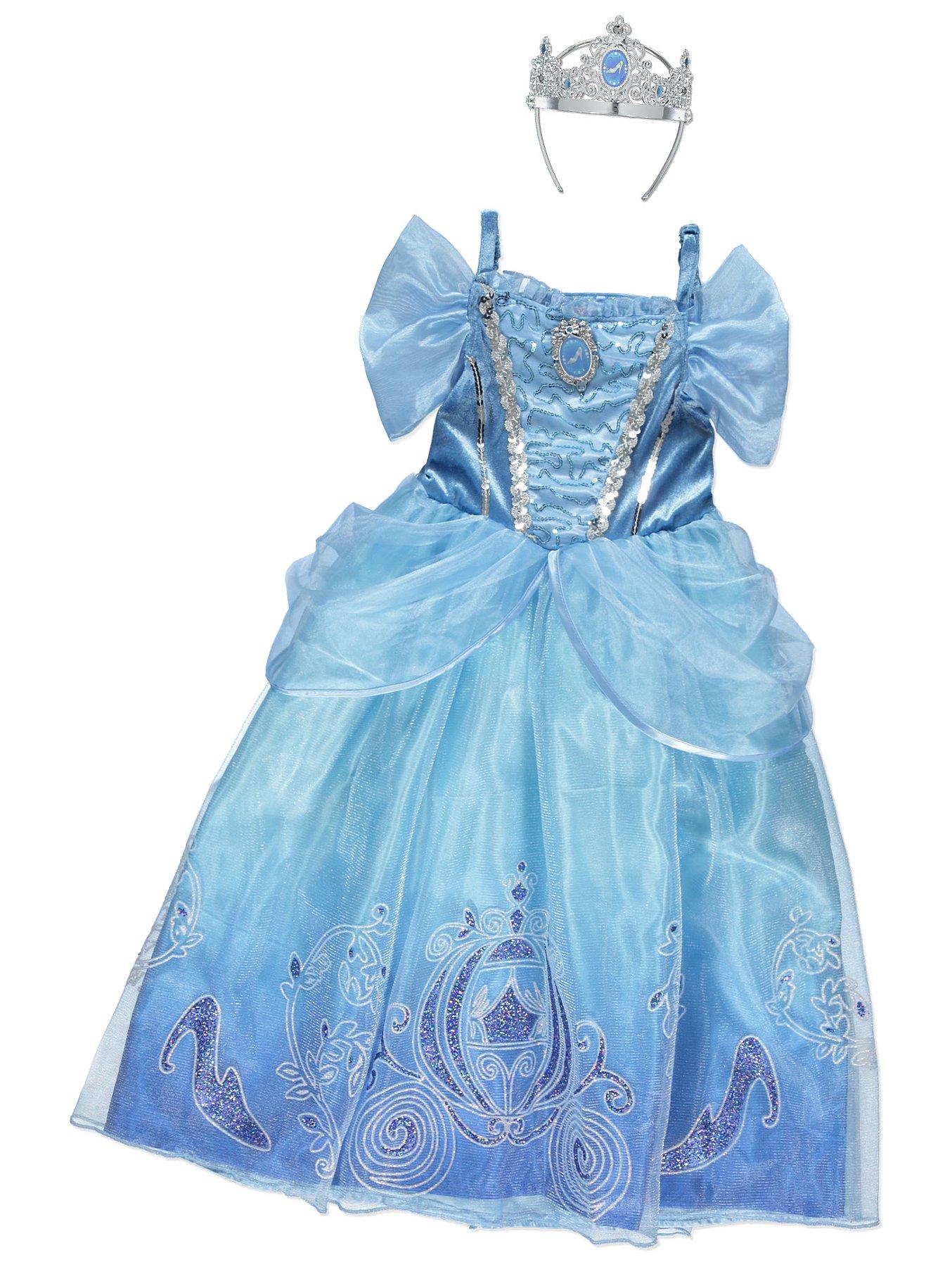 1723f07d613 Disney Princess Cinderella Fancy Dress Costume. Reset