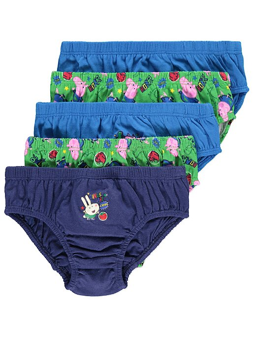 3f27a351ec Peppa Pig George Pig Briefs 5 Pack. Reset