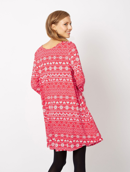 Christmas Fairisle Print Dress | Women | George