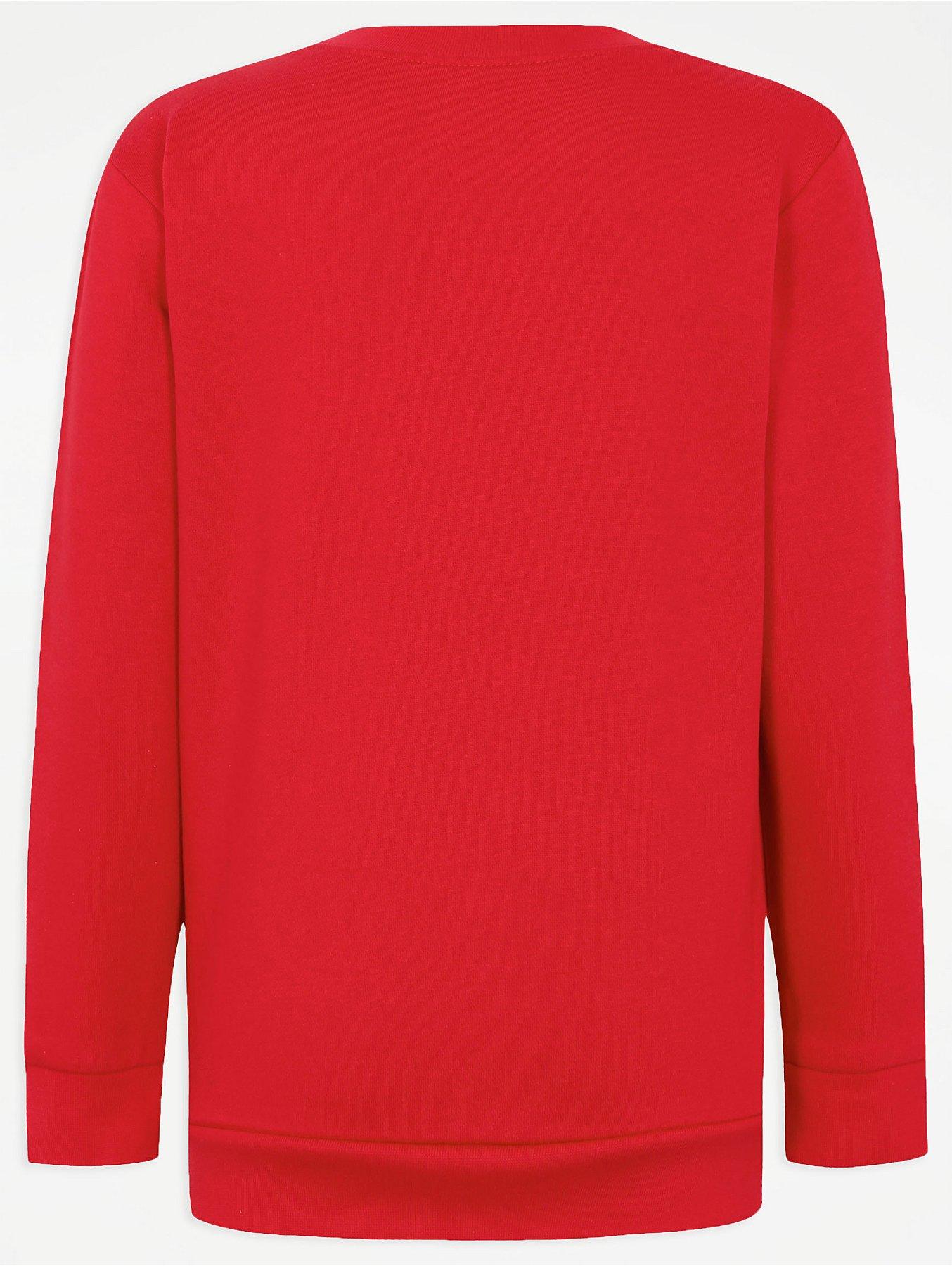Red School Sweatshirt 2 Pack