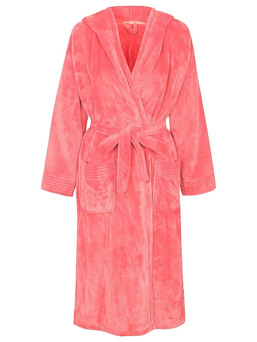 Supersoft Hooded Dressing Gown. Reset ed7187dfb