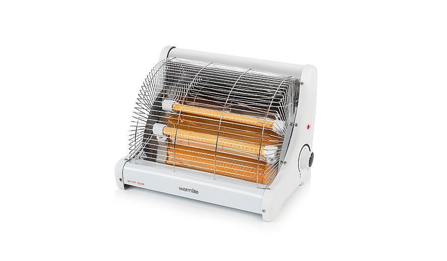 Warmlite Radiant 2 Bar Heater Home Amp Garden George At Asda