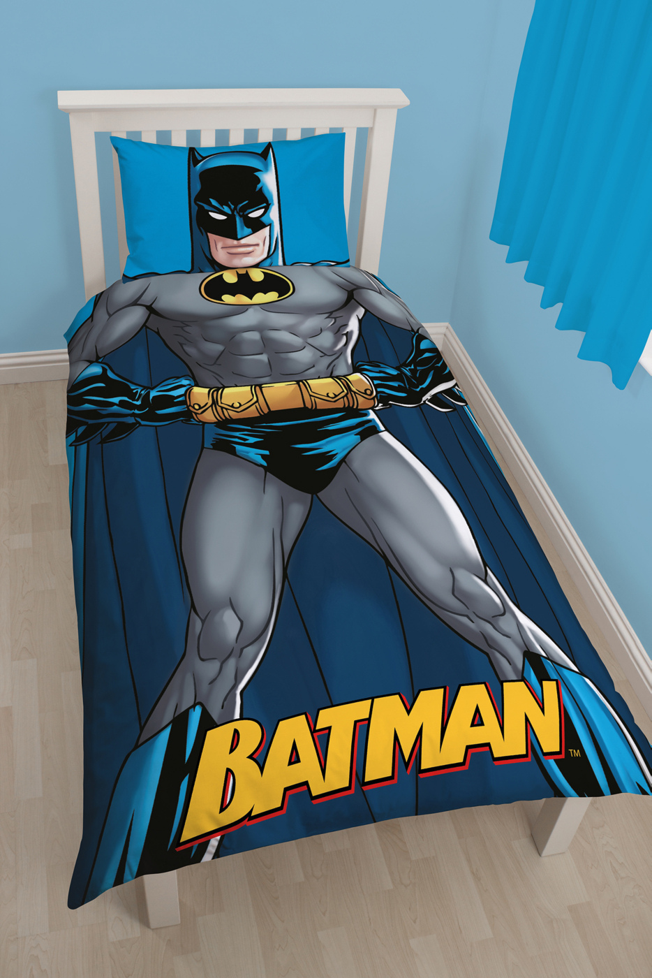 Batman Bedroom Range Kids Bedding & Accessories