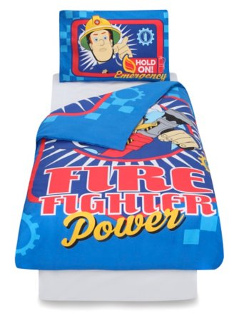 Fireman Sam Action Toddler Bedding Range