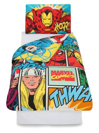 Marvel Comics Toddler Bedding Range