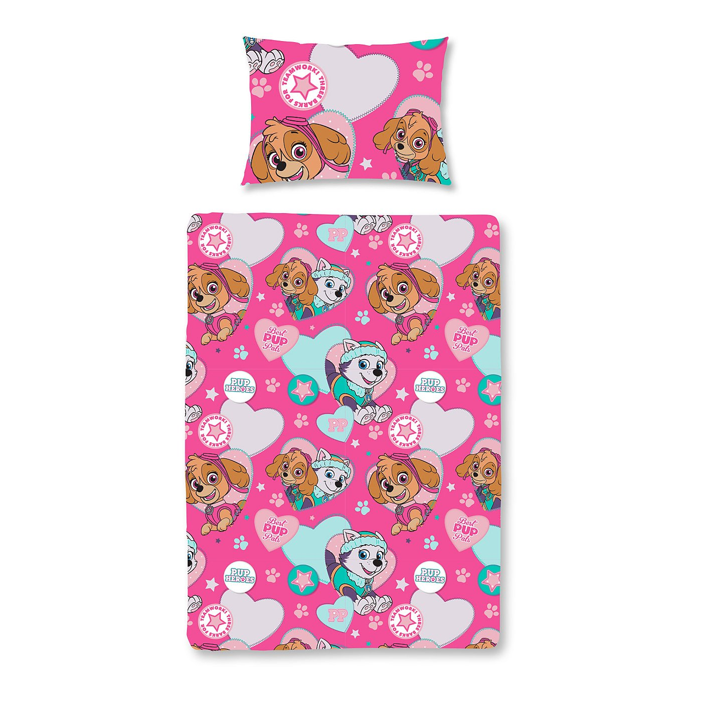 paw patrol skye and everest toddler bedding range loading zoom - Paw Patrol Toddler Bedding
