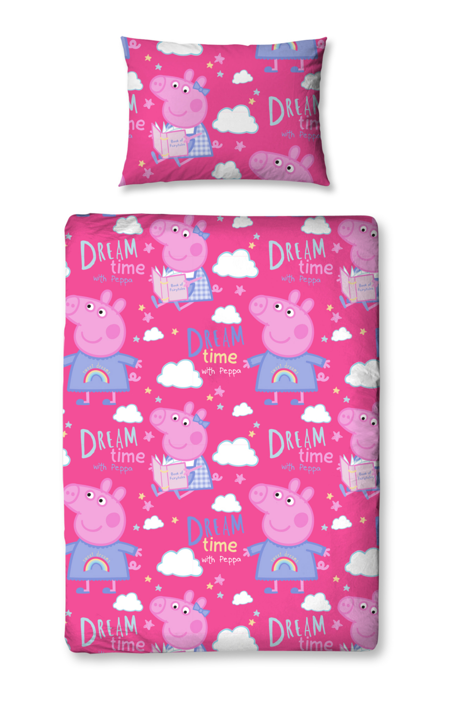 Peppa Pig Dreams Toddler Bedding Range