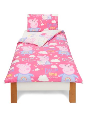 Peppa Pig Single Bedding Range