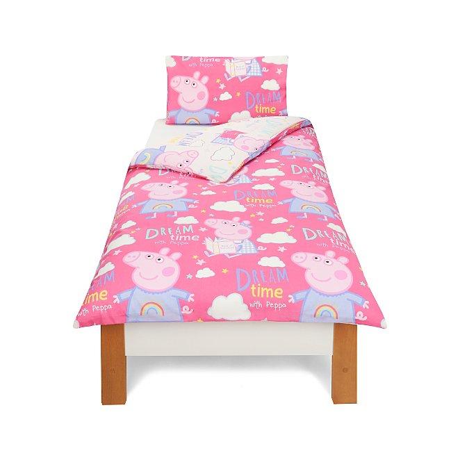 Peppa Pig Single Bedding Range Kids Bedding George At Asda