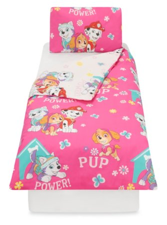 Paw Patrol Rotary Toddler Bedding Range