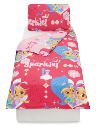 Shimmer & Shine Bedding Range