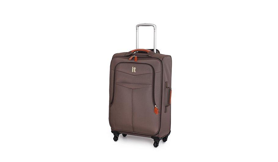 it Luggage 4-Wheel Lightweight Spinner Trolley Case - Medium ...