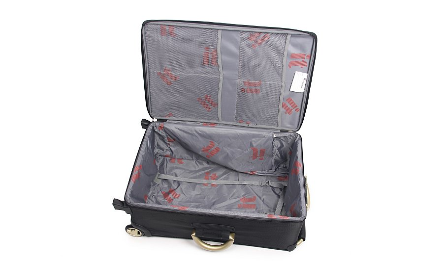 it Luggage World's Lightest Trolley Case - Medium, Black | Summer ...