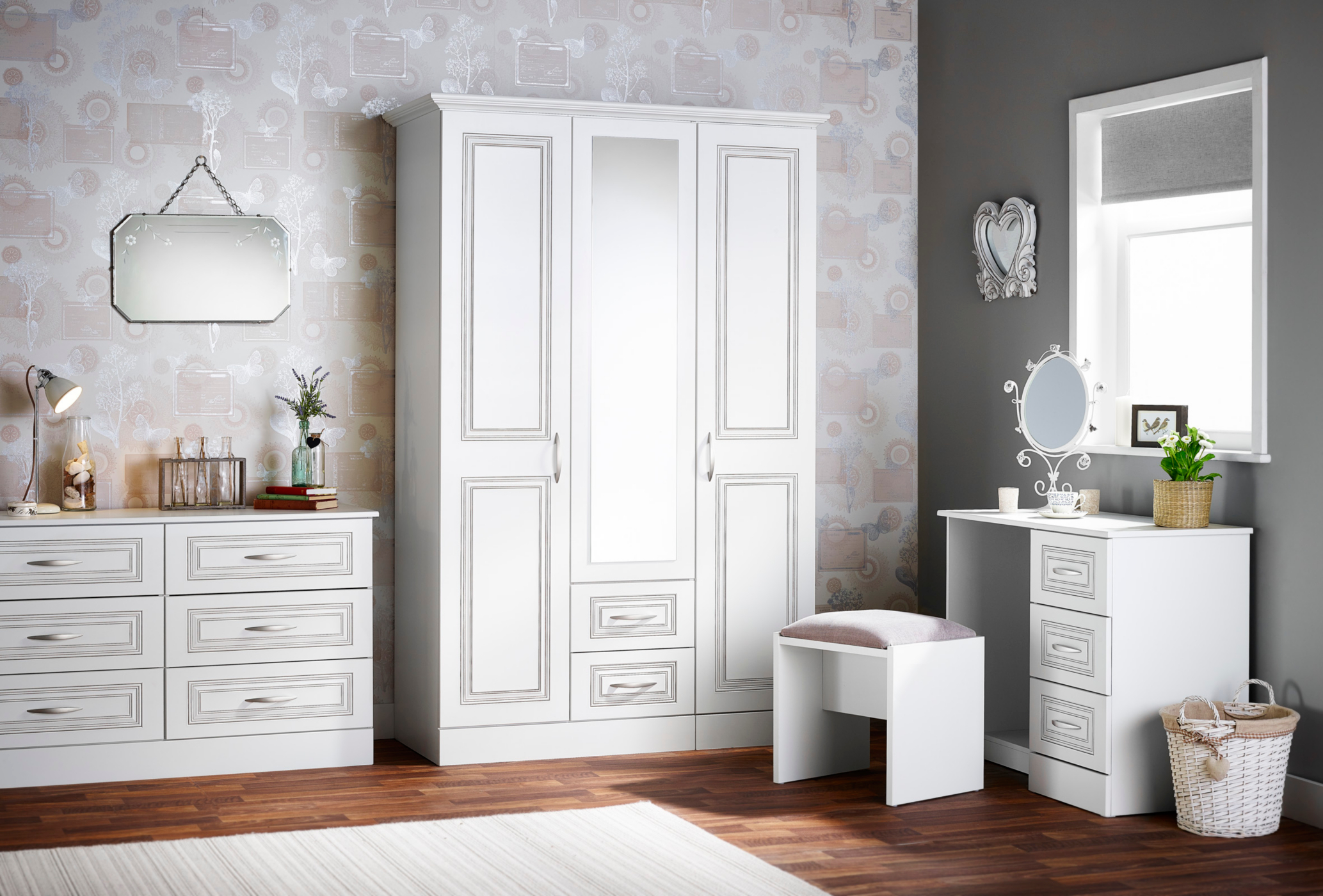 Grange Bedroom Furniture Range White Bedroom George at ASDA