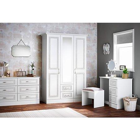 Grange Bedroom Furniture Range   White. Grange Bedroom Furniture Range   White   Chest of Drawers   George