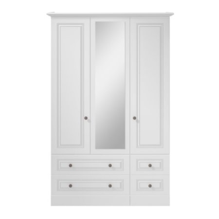 Cooper Bedroom Furniture Range - White
