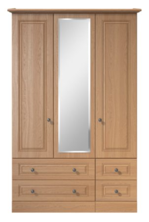 Cooper Bedroom Furniture Range - Oak Effect
