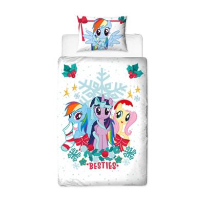 My Little Pony Reversible Xmas Duvet Set - Single