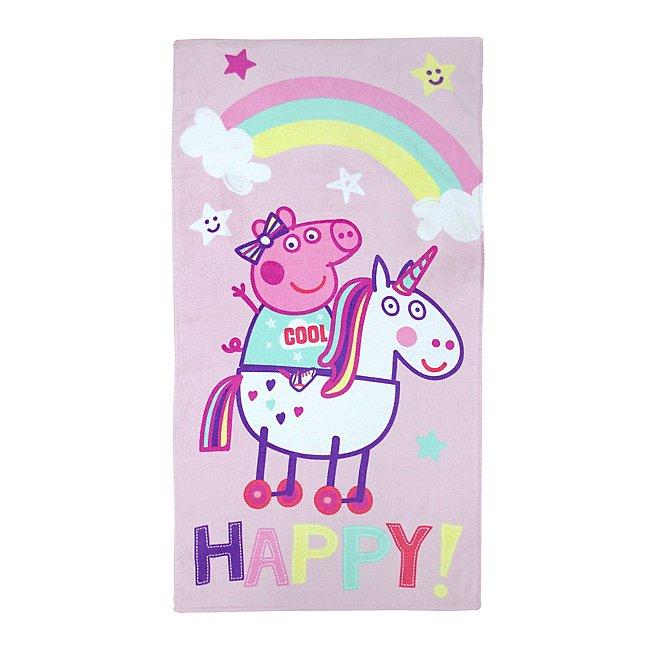 Peppa Pig Unicorn Towel