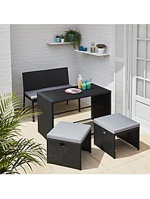 Astonishing Garden Furniture Outdoor Garden George At Asda Interior Design Ideas Gentotryabchikinfo