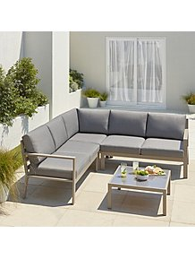Remarkable Garden Sofa Sets Outdoor Garden George At Asda Theyellowbook Wood Chair Design Ideas Theyellowbookinfo