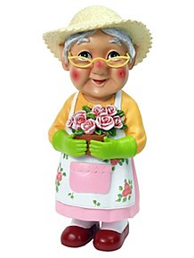 Mini Gardening Grandma Gnome