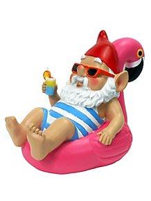 Mini Sunbathing Grandpa Gnome