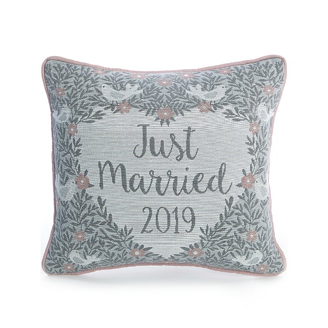 e5c368cb7 Grey Just Married Mini Cushion | Home | George