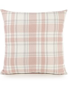 284f53528c3 Pink Brushed Check Cushion