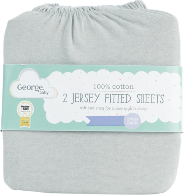 Fitted Cot Sheet Rafferty Print