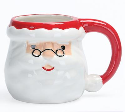 Santa Shaped Mug