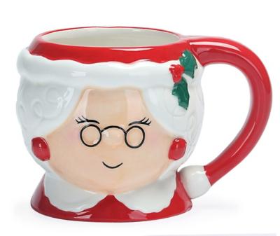 Mrs Claus Shaped Mug