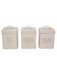 Cream Canister Set Pack of 3