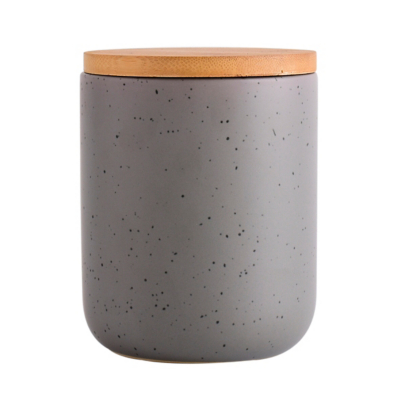 Grey Speckle Canister