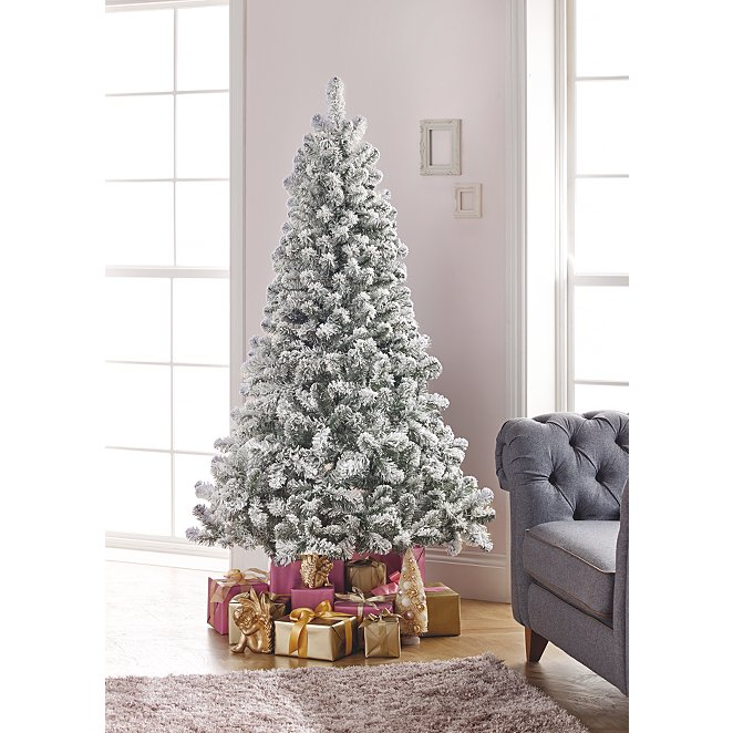 size 40 70f8f 726a4 6ft Snowy Pine Christmas Tree