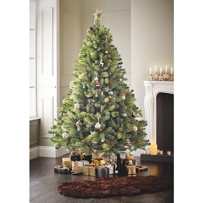 7ft Christmas Tree.7ft Pine Cone Christmas Tree