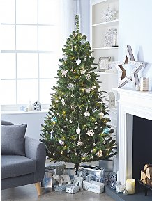Image Christmas Tree.Trees Decorations Christmas George At Asda