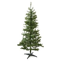 6ft Round Tip Green Christmas Tree by Asda