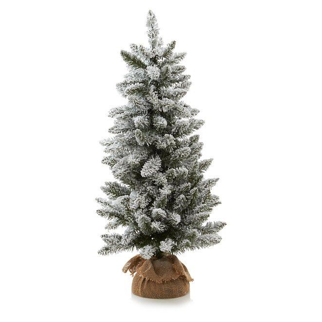 Snowy Christmas Tree.3ft Pre Lit Snowy Christmas Tree