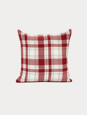 Red Check Cushion