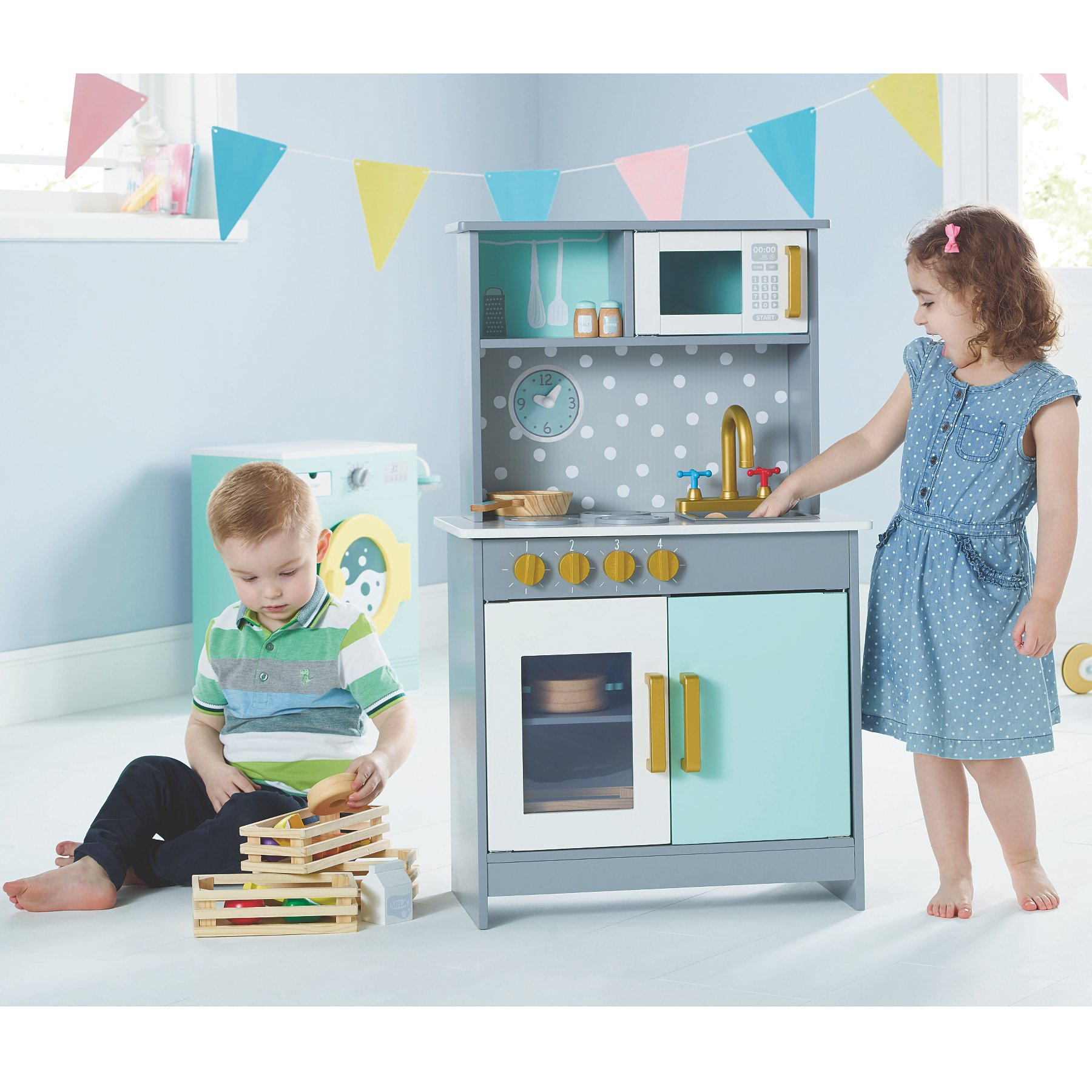 Wooden Deluxe Kitchen Toys Character George