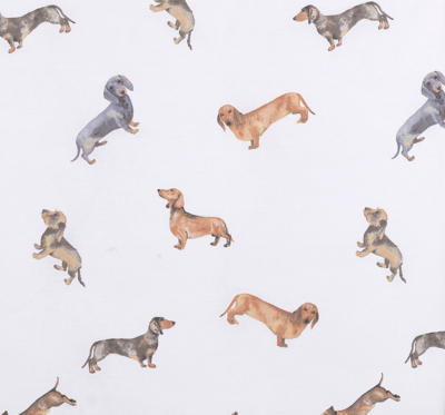 dachshund duvet cover asda