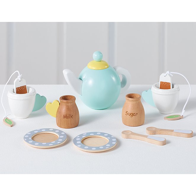 Wooden Afternoon Tea Set Toys Character George